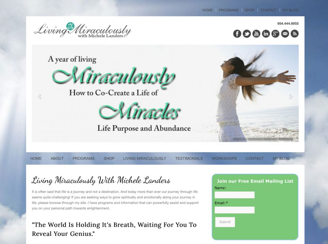 Living Miraculously with Michele Landers